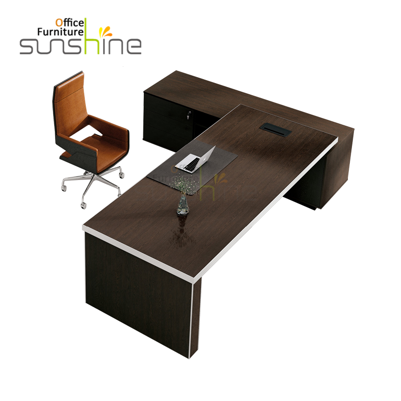 BS-D2810 NEW BOSS OFFICE FURNITURE DECISION CEO DESK
