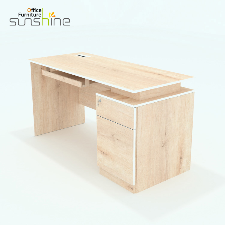 Counter office new table design modern work table furniture wooden computer executive desk KIA-08