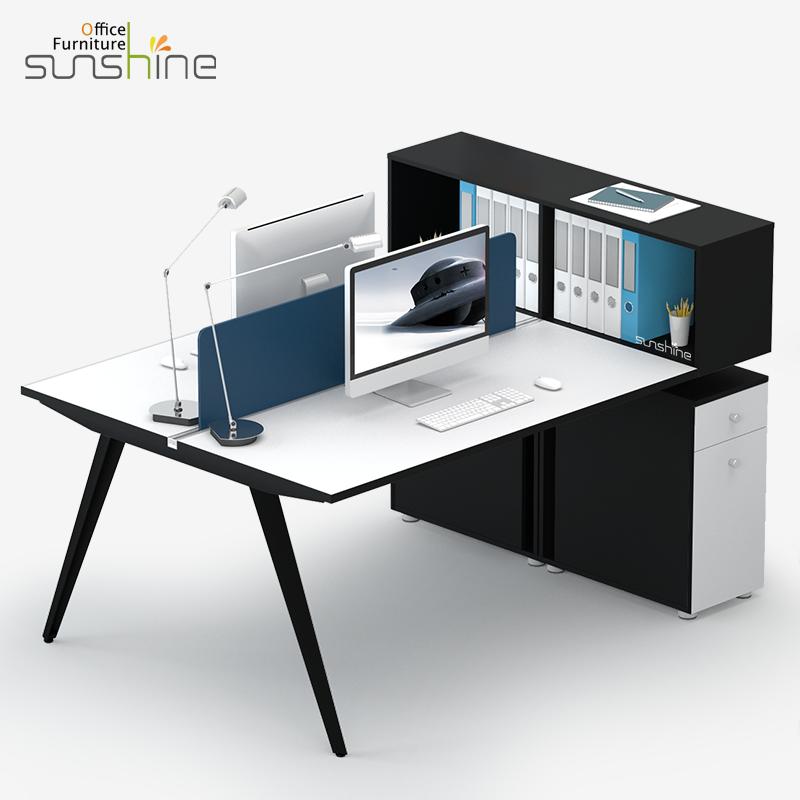 Elegant Modern Office Furniture Office Desk Modular Office Workstations  BY W2001
